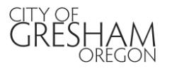 City of Gresham Masthead Image