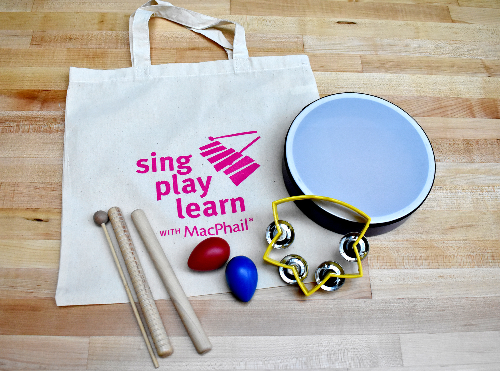 Sing Play Learn with MacPhail Jam Kit