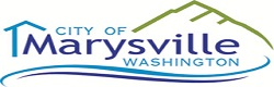Logo - City of Marysville